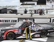 Brandon Jones grabs first Truck Series win on final lap