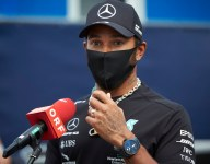 Hamilton says he was talked out of running Kaepernick helmet at USGP