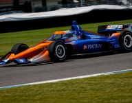 Dixon tops Indy GP warm-up