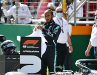 UPDATED: Hamilton cleared over yellow flags, stays P2