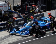 IndyCar tweaks rules to aid cockpit cooling