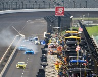 Blaney tire changer sits out Kentucky after Indy pit accident