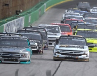 Creed gets first Trucks win in rain-shortened Kentucky race