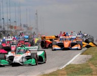 Hunter-Reay, Power and Rahal dispute on-track tangles
