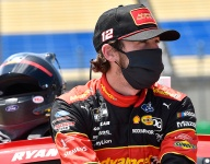 Apron bump catches Blaney by surprise on critical final restart