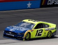 Late caution dismisses Blaney's dominance at Texas