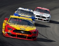 Logano encouraged by third at Texas