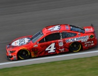 Harvick says 'we have work to do' despite fourth place