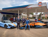 Gulf returns as McLaren sponsor