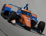Dixon leads opening Indy 500 practice