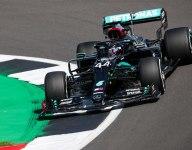 Hamilton leads Mercedes British GP qualifying rout