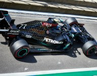 Mercedes heats up at cooler Silverstone FP3