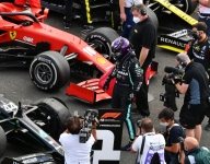Mixed feelings for Hamilton after dramatic win