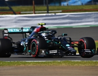 Bottas leads Mercedes sweep in first Silverstone practice