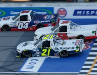 Zane Smith gets first Trucks win in thrilling finish at MIS