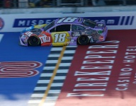 Kyle Busch left looking for more after top-five Michigan finish
