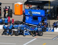 Buescher loses Michigan pole after switch to backup