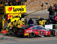 NASCAR alters side window to aid driver cooling