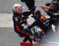 Verstappen exults over unexpected victory