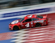 Harvick wins again to sweep the weekend at Michigan