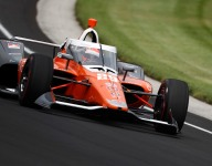 Hinchcliffe leads Andretti-dominated opening day at Indy