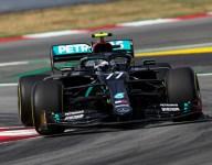 Bottas tops Hamilton in first Spanish GP practice