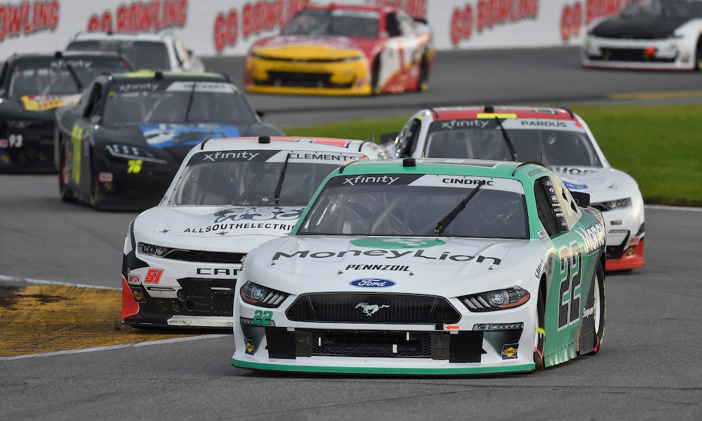 Cindric Makes History With Xfinity Win On Daytona Road Course Racer