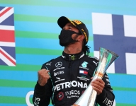 Hamilton humbled at beating Schumacher podium record