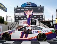 Hamlin profits from Truex Jr.'s struggles, cruises to Dover win