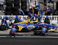 Edwards, Rossi rue pitlane penalty