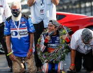 A day to remember for Rahal, Letterman