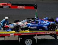 Davison's fiery Indy 500 DNF traced to likely brake line issue