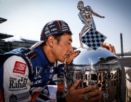 Sato praises RLL team, engineer Jones, for stunning Indy 500 win