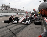 Promise fades to frustration for Penske trio in WWTR Race 1