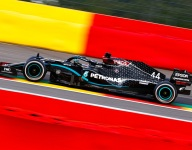 Hamilton coasts to Belgian GP win