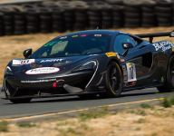 Cooper flag to flag in GT4 America Sprint Race 2 at Sonoma