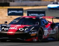 Fuentes/Baptista get GT World Challenge win at Sonoma