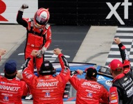 Fired up Allgaier takes dominant Dover Xfinity win
