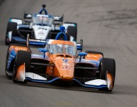 Dixon holds off Sato for 50th IndyCar win in WWTR Race 1