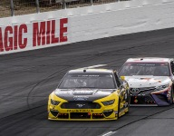 Keselowski, Hamlin rave over on-track battles at the Magic Mile