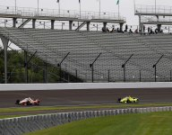 Positive impressions of aeroscreen at Indy