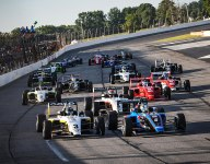Rasmussen dominates on the oval for sixth USF2000 win