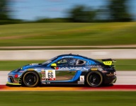 Pumpelly ouduels Cooper in GT4 America Sprint Race 2