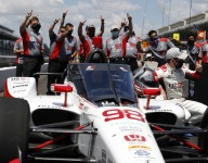 Andretti outduels Dixon for Indy 500 pole