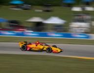 Hunter-Reay leads Mid-Ohio practice
