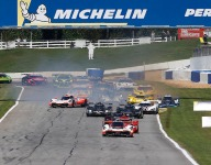 Acura, Mazda, Cadillac 1-2-3 at Road Atlanta six hour halfway point