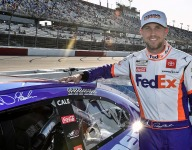 Hamlin starts Cup team with Michael Jordan; Wallace to drive