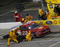 Hard-fought third for Logano salvages the night for Penske