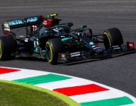 Bottas leads Mercedes 1-2 in second Tuscan GP practice