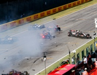 Restart crash that red-flagged race 'properly scary' - Sainz